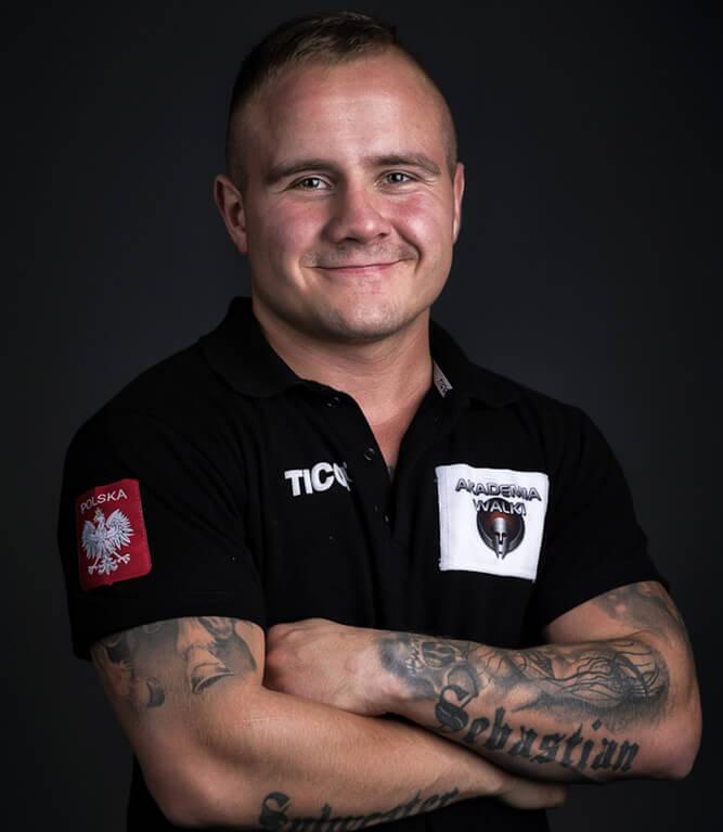 Trener boksu - Grzegorz Kozłowski