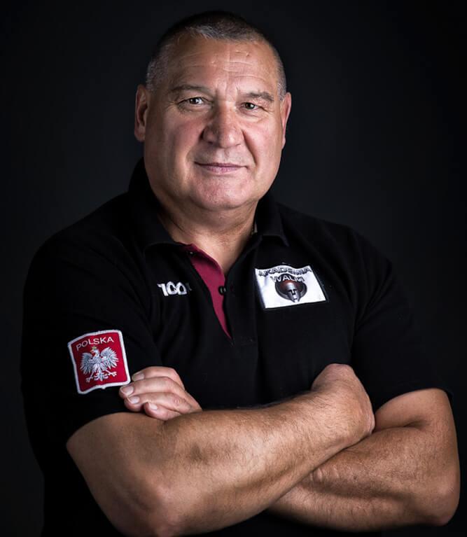 Trener boksu - Paweł Skrzecz