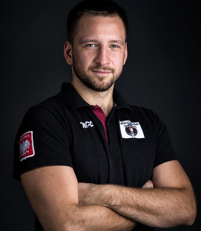 Trener karate - Tomasz Kostecki