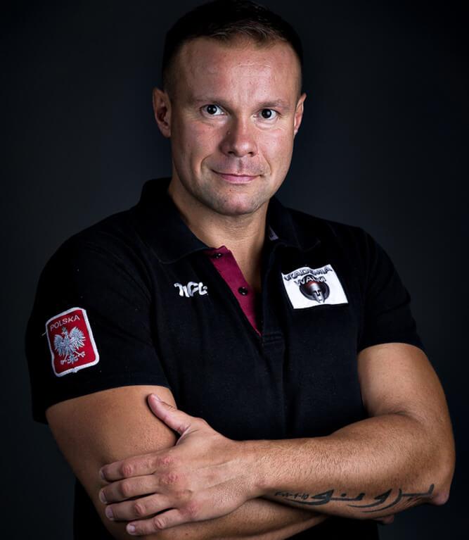 Trener boksu - Sebastian Skrzecz